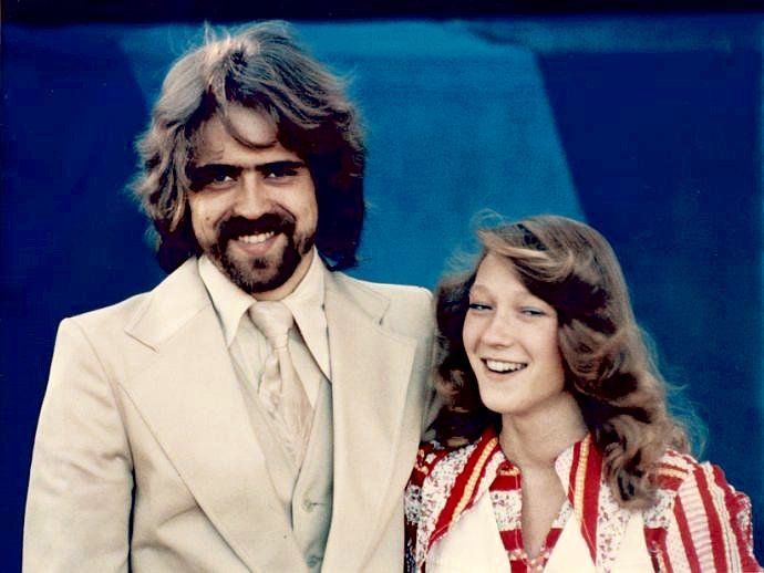 Bröllopsbild 1976